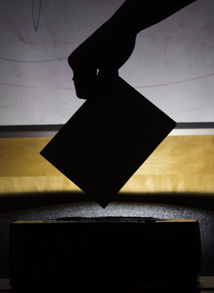 dark ballot